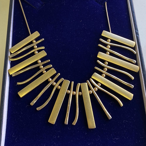 Necklace gold style (SS gift 9)
