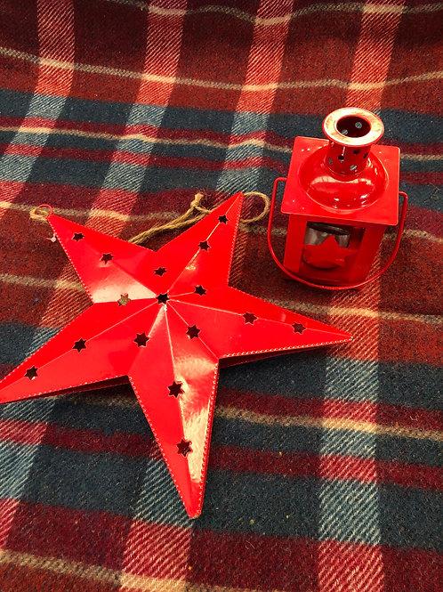 Star Christmas set of 2 (XMAS10)