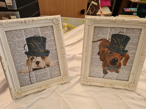 2 x dog pictures (R1)