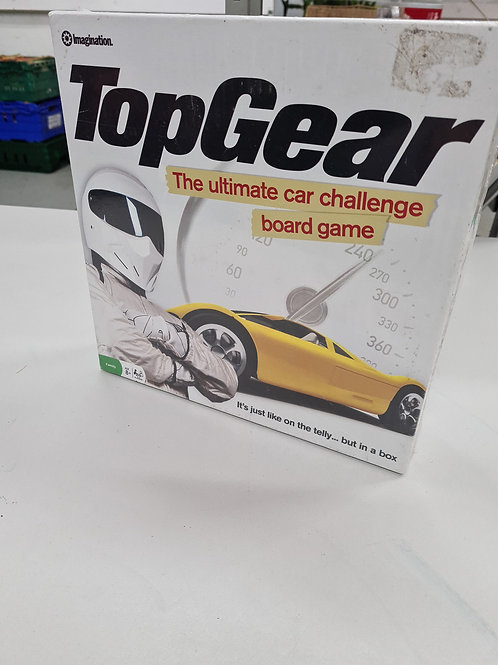 New and sealed top gear game (GC4)