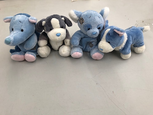Set of 4 blue nose friends (0:2)