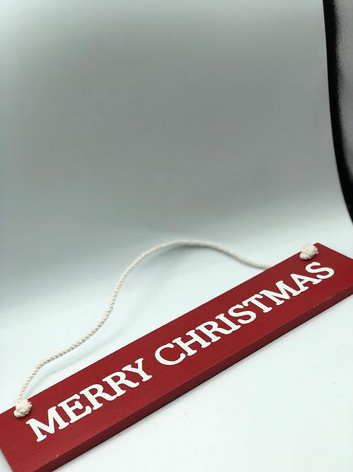 Merry Christmas Sign (XMAS2)