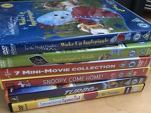 Children's DVD Collection (Q1)