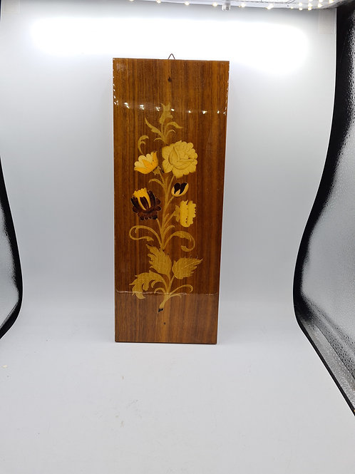 Wooden inlaid hanging (S)