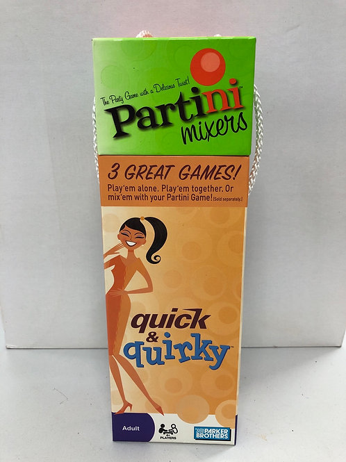 Parker Brothers Partini Mixers adult game (GC4)