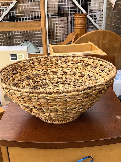 Hyacinth basket bowl