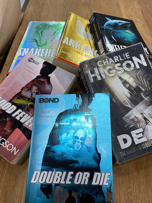 Charlie Higson and Anthony Horowitz books (SS books 5)