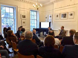 Встреча с предпринимателями в Лондоне.