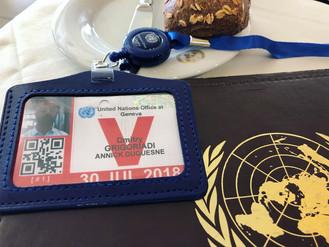 Фотоотчёт о работе в ООН (Женева, Швейцария).