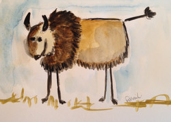 Fluffy Buffalo