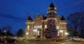 Fulton County Courthouse Christmas 2018.