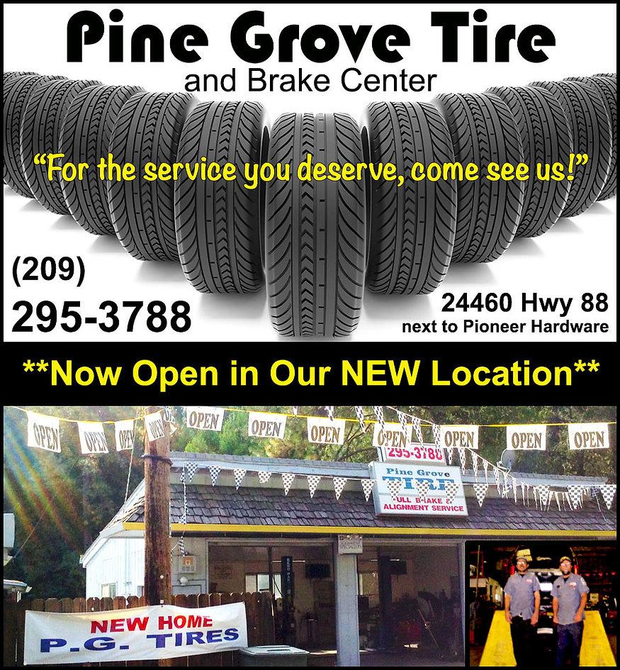 Pine Grove Tire, 209-295-3788
