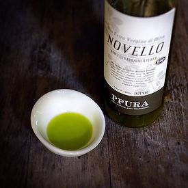 Huile d'olive Novello