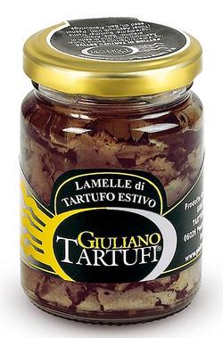 Carpaccio de truffe d'été