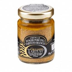 Crème de cèpes à la truffe blanche