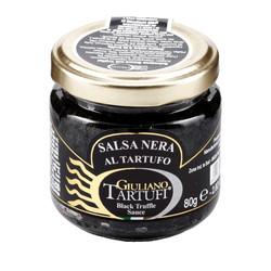 Sauce de truffe noire à l'encre de seiche