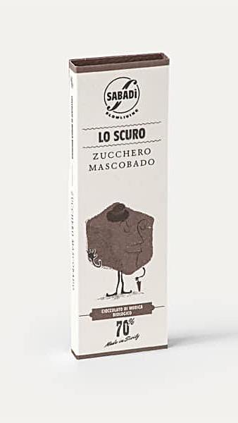 Chocolat au sucre Moscovado intégral