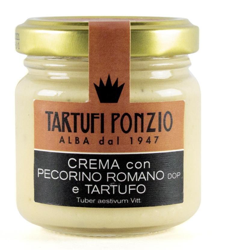 Crème de Pecorino Romano à la truffe