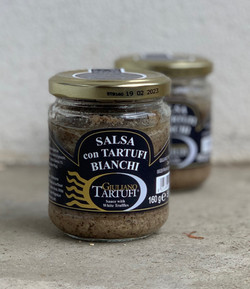 Salsa à la truffe blanche