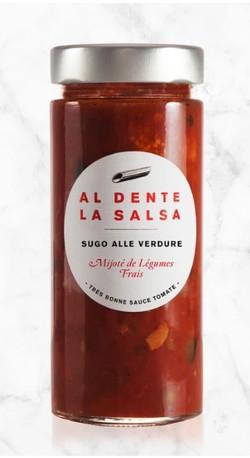 Sauce tomate aux légumes
