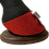 Thumbnail: Red with Silver Bow Christmas Hoofies