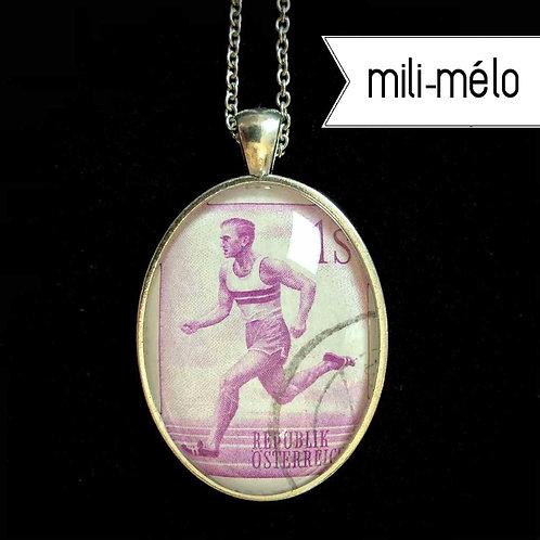 mili-mélo: Läufer (1959, gestempelt)