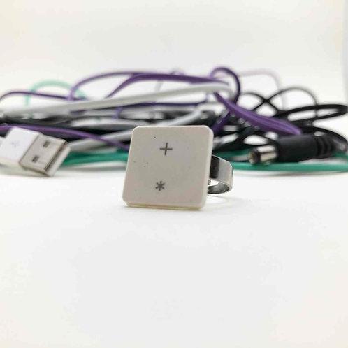 Mac-Tastatur-Ring: plus Stern