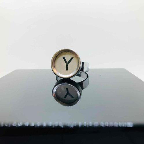 """Schreibmaschinen-Ring """"Y"""""""