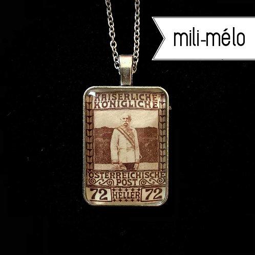 Franz Josef, 1908 (braun): mili-mélo