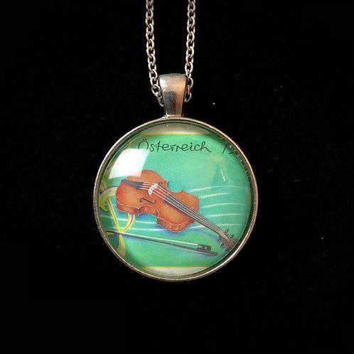 Geige (grün)
