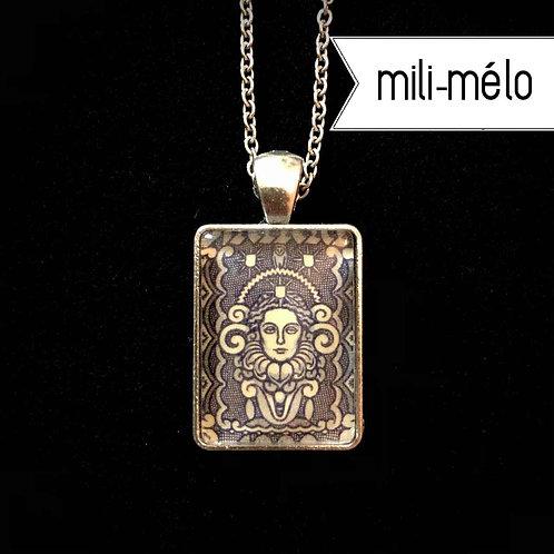Frauenkopf, 1922 (lila): (mini mili-mélo)