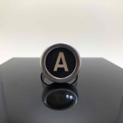"""Schreibmaschinen-Ring """"A"""""""