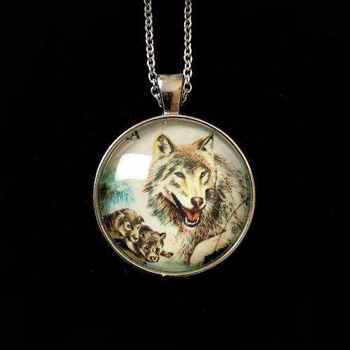 Wolf (vermutlich 1985, gestempelt)