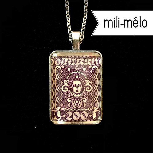 Frauenkopf, 1922 (dkl'violett): mili-mélo