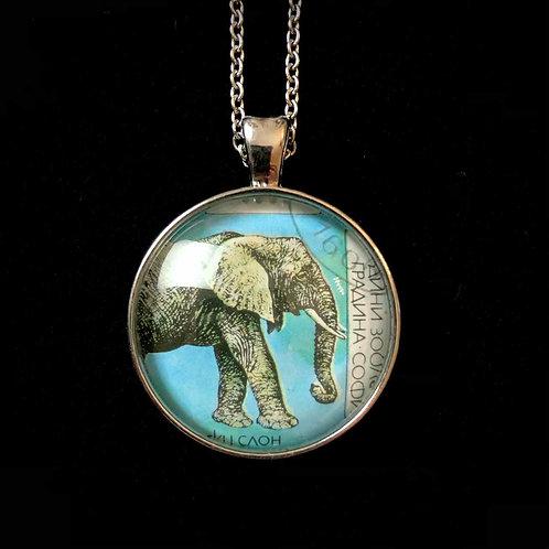 Elefant (1988, gestempelt)