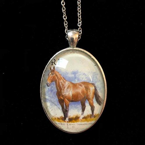 Irish Draught Horse (Pferd; gestempelt)