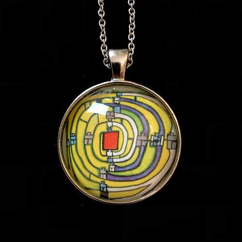 100Wasser: Spirale, gelb