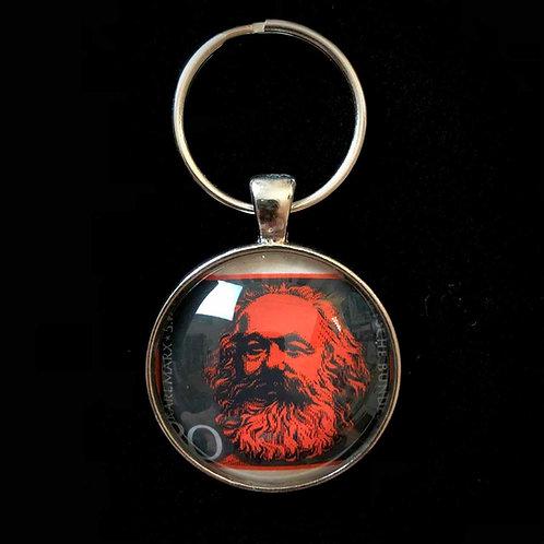 Karl Marx 1968 (schwarz rot)