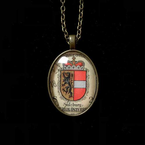 Wappen 1976: Salzburg (gestempelt)
