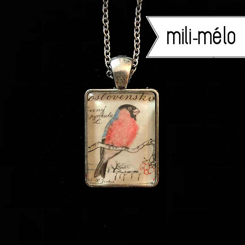 Aquarell-Vogel: Dompfaff (mini mili-mélo)