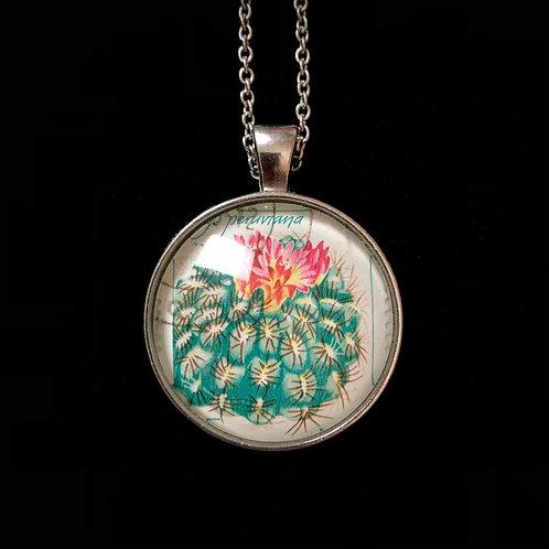 blühender Kaktus (rot, 1983, gestempelt)