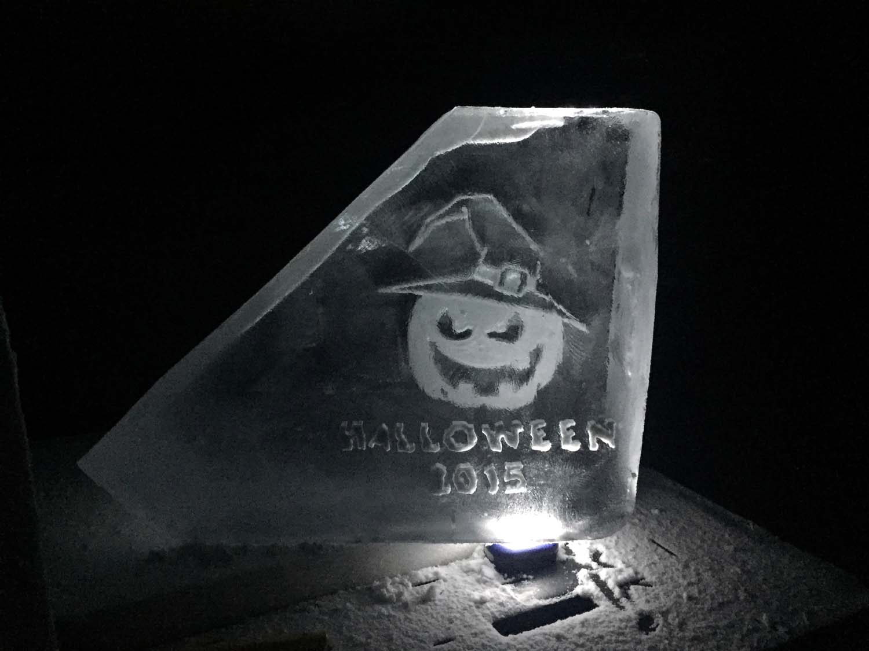 Halloween luge