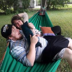 Loving their Wedding Hammock!!! ���