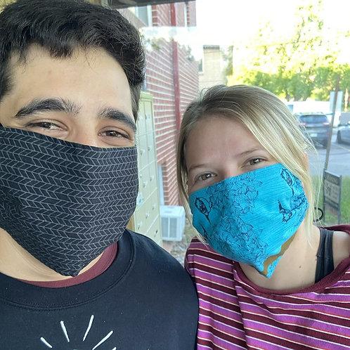 Men's Black Masks