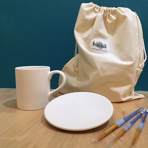 Kit à offrir - le set petit-déjeuner