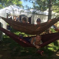 Had a blast this weekend sharing the love of hammocks in Lyons, CO _#Hammocks #hammocklife #hammockl