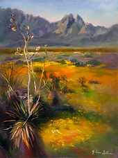 18x24 $575 Organ Mountains - Desert Peak