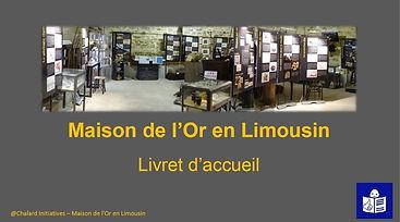 Page de couverture du livret de visite rédigé en FALC. Une photo montre l'intérieur du musée.