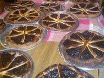 Des tartes aux puneaux ont été préparées pour la soirée Pot au Feu.