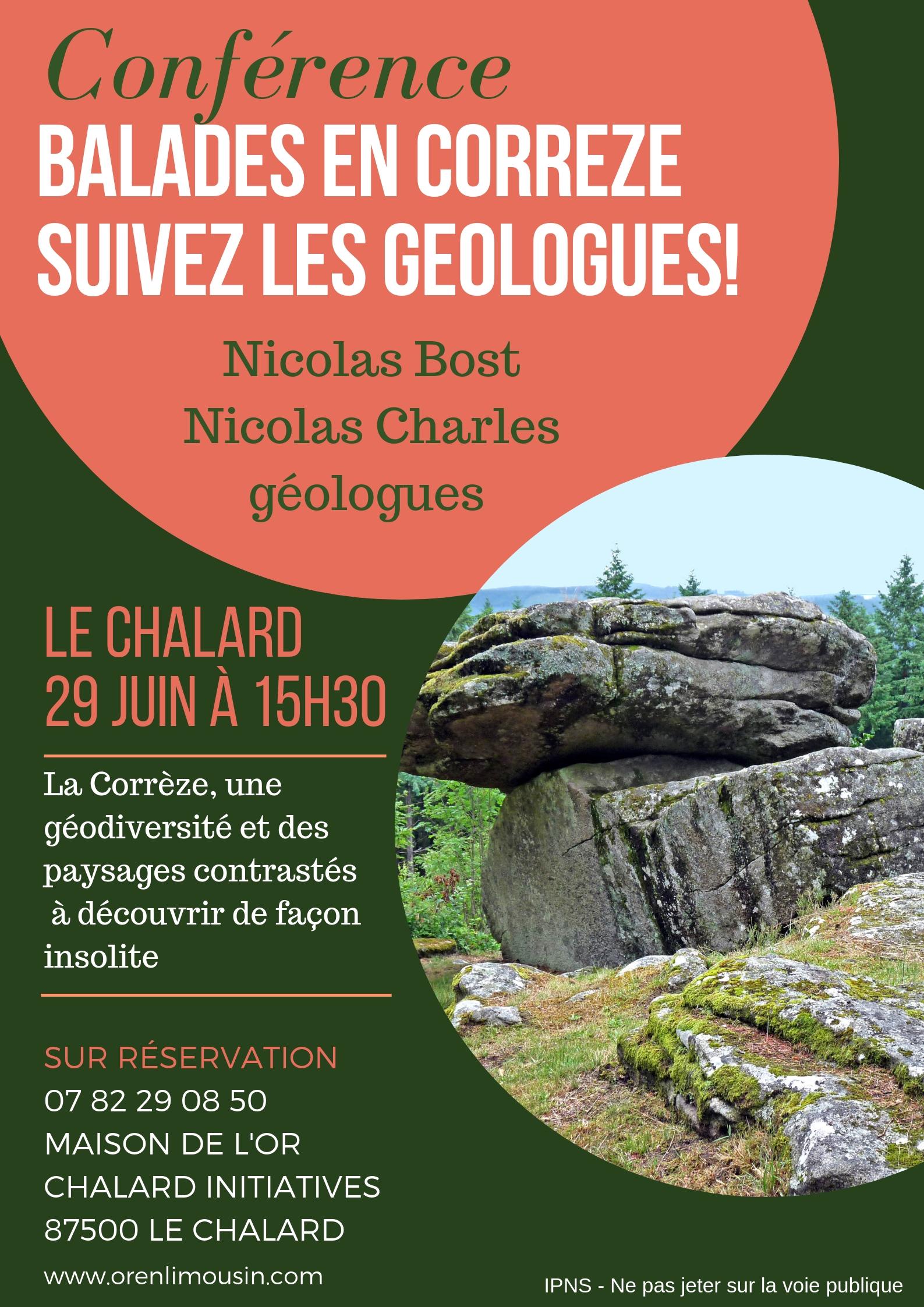 Geologie Corrèze